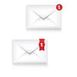 邮箱机敏的象 库存例证