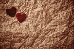 与重点的情人节背景。 免版税库存图片