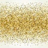 与金子闪烁的传染媒介背景 免版税图库摄影