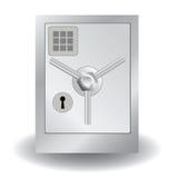 金属保险柜 向量例证