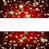 与金星的红色背景 向量例证
