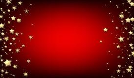 与金星的红色背景 皇族释放例证