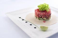 与金枪鱼的沙拉 免版税库存照片
