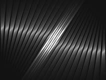 与铁带的抽象现代背景 免版税图库摄影