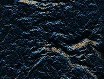 与镇压和金黄包括,石头的深蓝穿孔的毛面 可能 库存图片