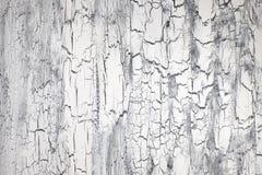 与镇压的概略的被绘的木表面,中立背景 免版税库存图片