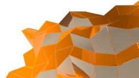 与长方形和线的抽象几何背景 库存例证