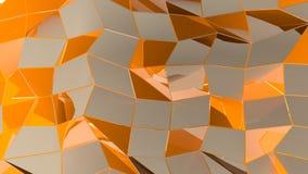 与长方形和线的抽象几何背景 向量例证
