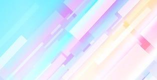 与长方形形式的摘要背景多彩多姿的题材 向量例证