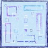 与长方形的抽象背景 皇族释放例证