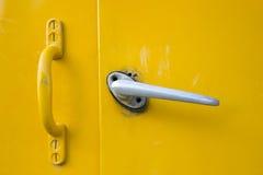 与门把的门 图库摄影