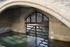 与门的护城河 库存照片