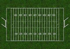与门的橄榄球领域 免版税库存图片