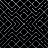 与闪烁的滤网纹理的银色抽象几何样式瓦片背景 导航菱形和金属线的无缝的样式 库存图片