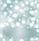 与闪闪发光的圣诞节逗人喜爱的墙纸 库存例证