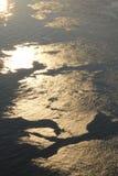与阳光的水 免版税库存照片