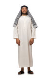 与阿拉伯人的概念被隔绝 图库摄影