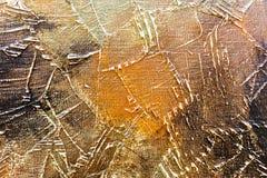 与难看的东西刷子冲程的织地不很细抽象绘画 库存图片