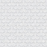 与难看的东西背景,浅灰色和白色墙纸的几何样式 免版税库存照片