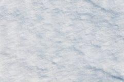 与雪沙丘的纹理 免版税库存图片
