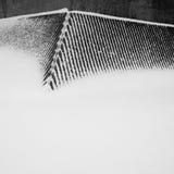 与雪的抽象 免版税库存照片