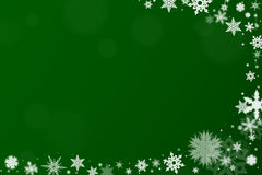 与雪的背景圣诞节的 免版税库存图片