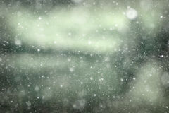 与雪纹理的背景 库存图片