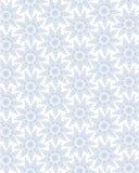 与雪花的无缝的有花边的模式 库存照片