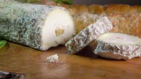 与青灰色模子的山羊乳干酪 股票录像