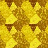 与静脉的抽象多角形大理石样式 免版税库存图片