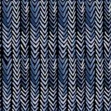 与靛蓝肋骨的无缝的水彩样式 图库摄影