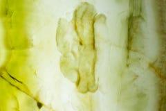 与非凡表面的异常的绿色石华纹理 库存图片