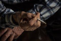 与非和香烟 免版税库存图片