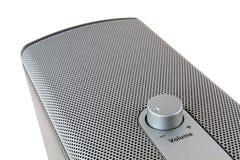 与音量控制的Ludspeaker滤网 免版税库存图片