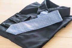 与领带的衬衣 图库摄影