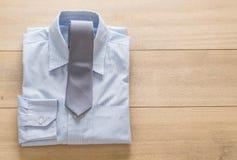 与领带的衬衣 库存图片