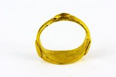 与题字的阿拉伯圆环:以阿拉的名义 免版税库存照片