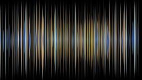 与颜色改变的条纹的意想不到的动画在慢动作,圈HD 1080p反对 向量例证