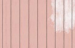 与颜色油漆的被绘的木背景墙纸 库存照片