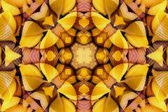 与颜色美丽的装饰物的万花筒  免版税图库摄影
