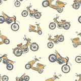 与颜色脚踏车2的无缝的纹理 免版税图库摄影