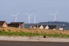 与风的去的绿色 图库摄影