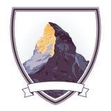 与马塔角的山顶例证 免版税库存图片