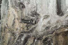 与高分辨率的黑大理石抽象背景样式 葡萄酒或自然石老墙壁纹理难看的东西背景  免版税库存图片