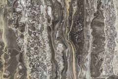 与高分辨率的黑大理石抽象背景样式 葡萄酒或自然石老墙壁纹理难看的东西背景  库存图片