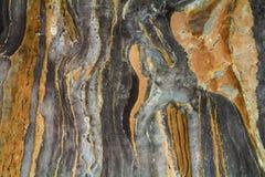 与高分辨率的黑大理石抽象背景样式 葡萄酒或自然石老墙壁纹理难看的东西背景  免版税库存照片