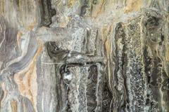 与高分辨率的黑大理石抽象背景样式 葡萄酒或自然石老墙壁纹理难看的东西背景  图库摄影
