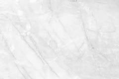 与高resol的白色大理石纹理摘要背景样式 免版税库存图片