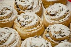 与结冰的圣诞节曲奇饼 免版税库存照片