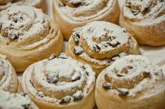 与结冰的圣诞节曲奇饼 库存图片